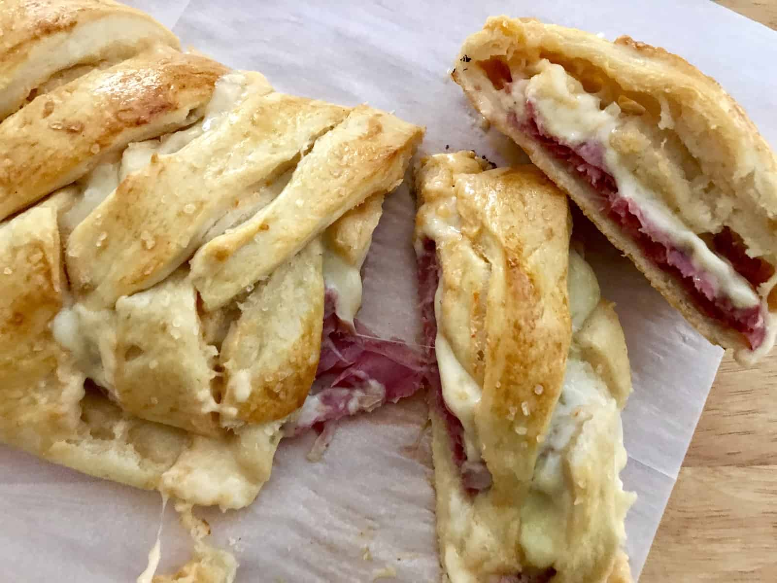 Reuben Stuffed Bread