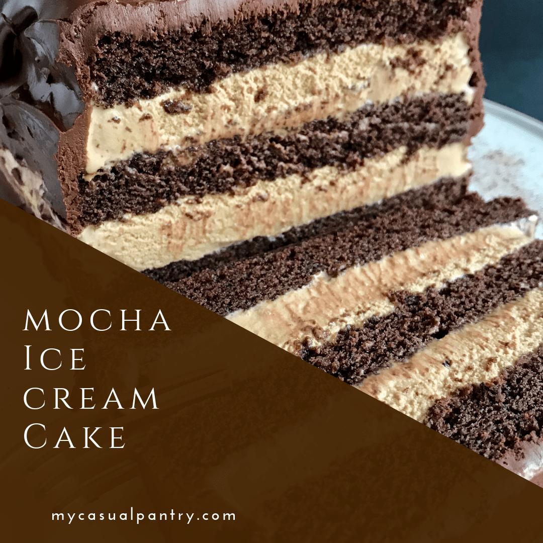 Mocha Ice Cream Cake