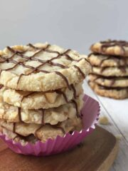 Toffee Shortbread Cookies