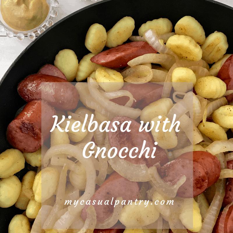 Kielbasa with Gnocchi