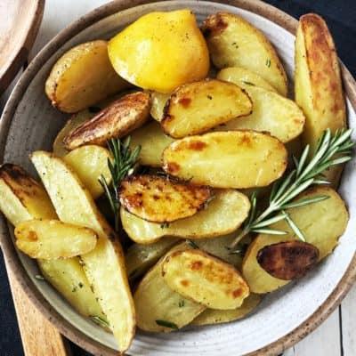 Lemon Rosemary Roasted Fingerling Potatoes