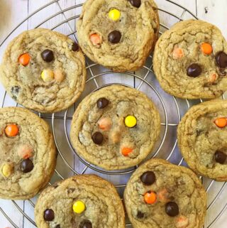 Double Reese's Peanut Butter Cookies
