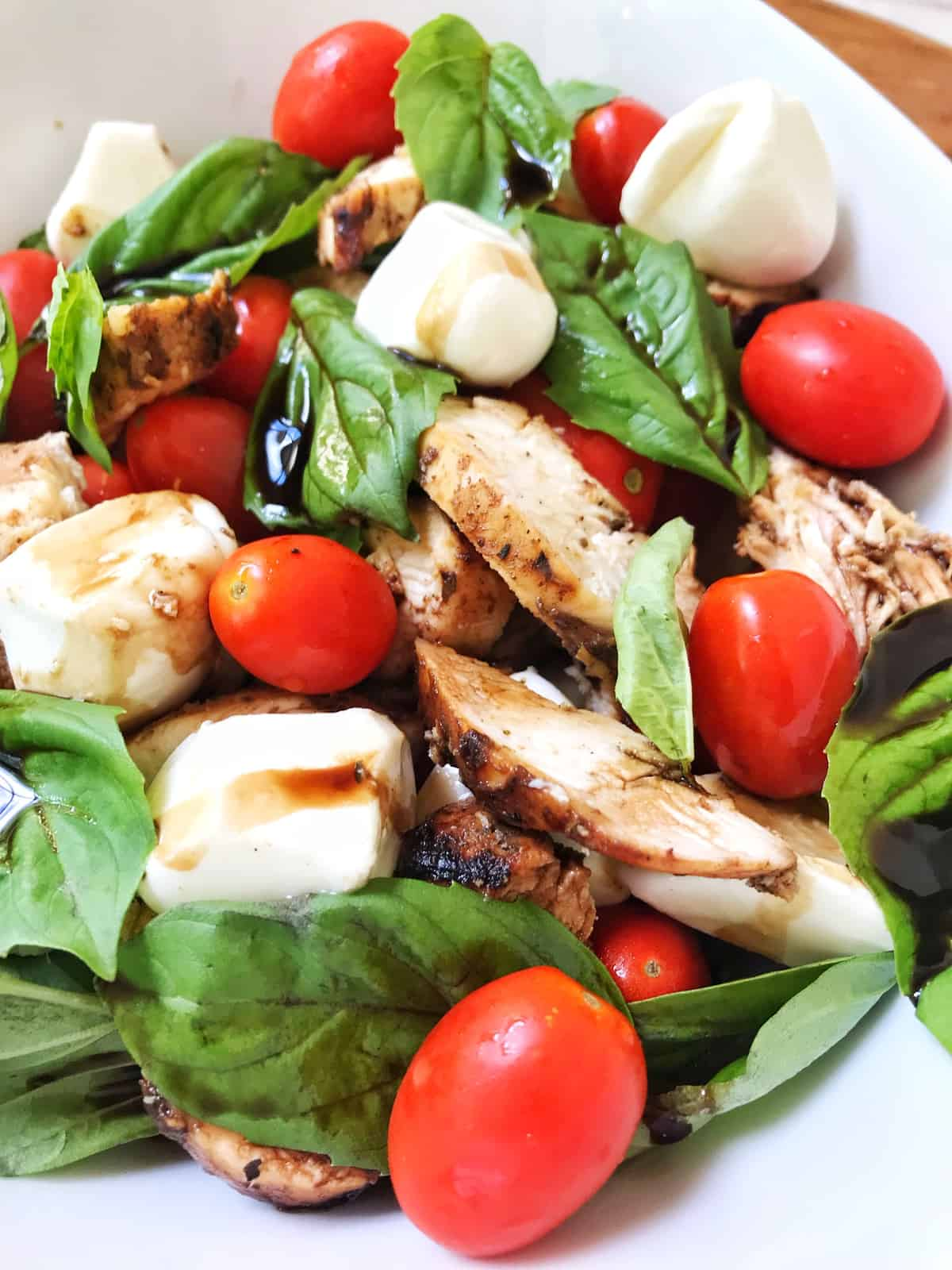 Grilled Chicken Caprese Salad