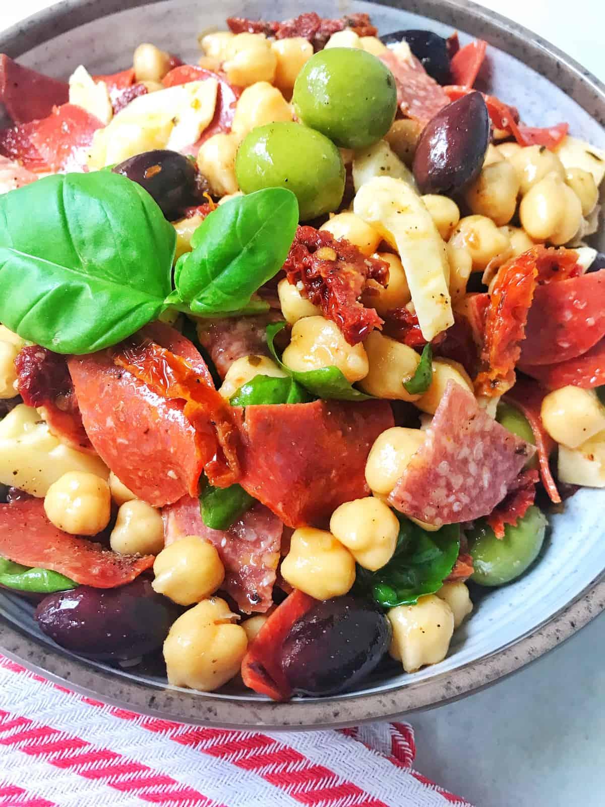 Chickpea Antipasto Salad