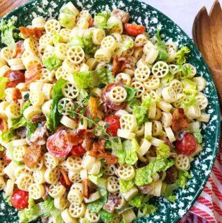 BLT Pasta Salad with Creamy Dressing