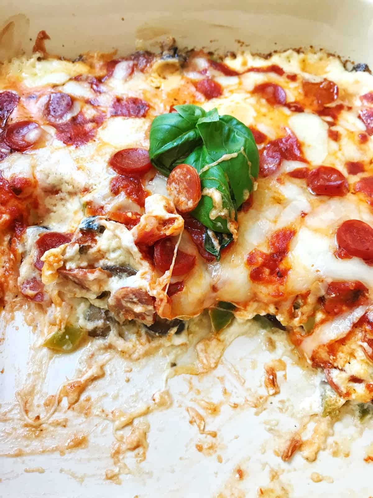 Ultimate Hot Pizza Dip
