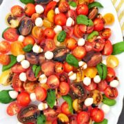 Caprese Salad with Balsamic Glaze