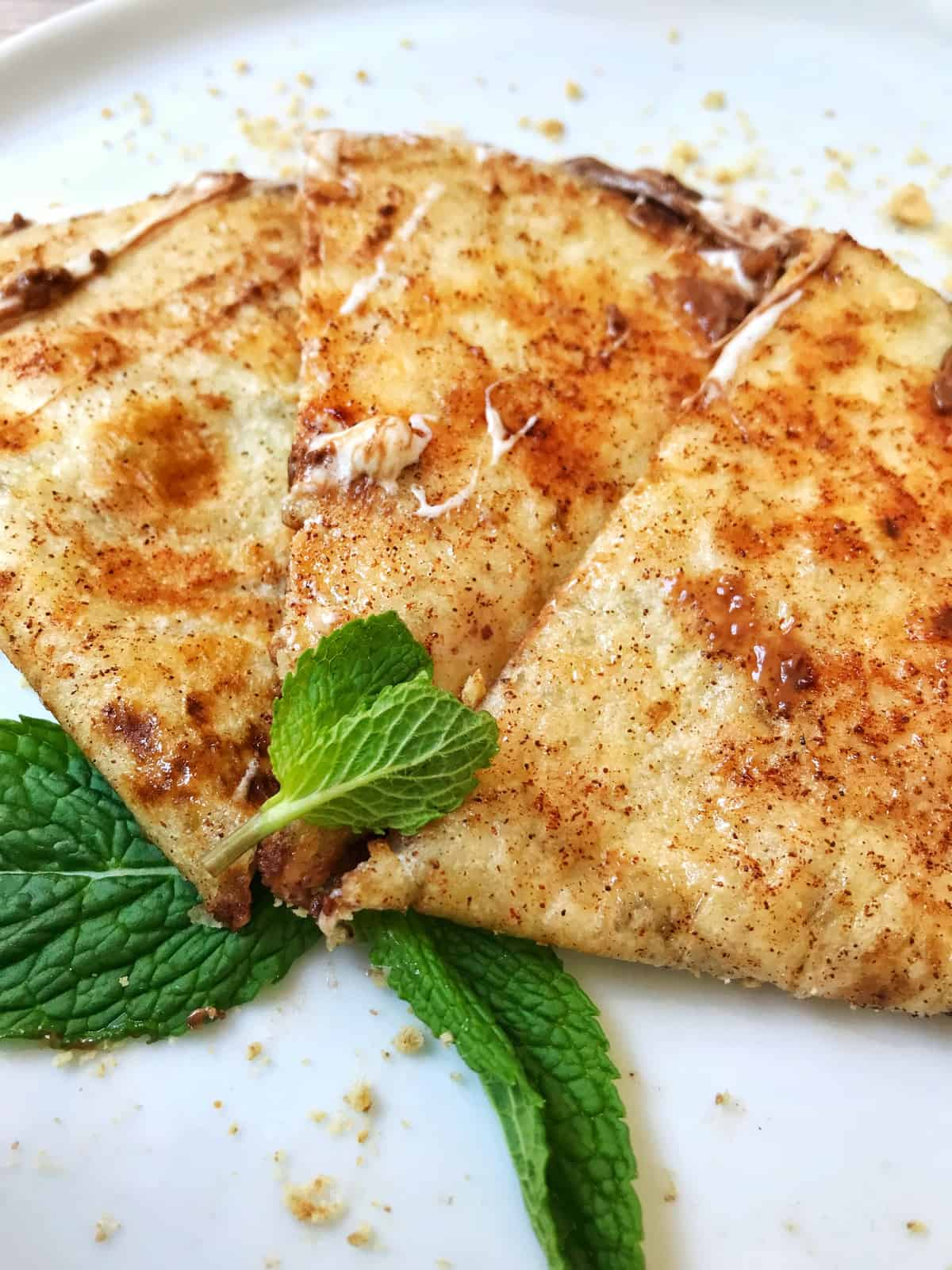 S'more Quesadilla