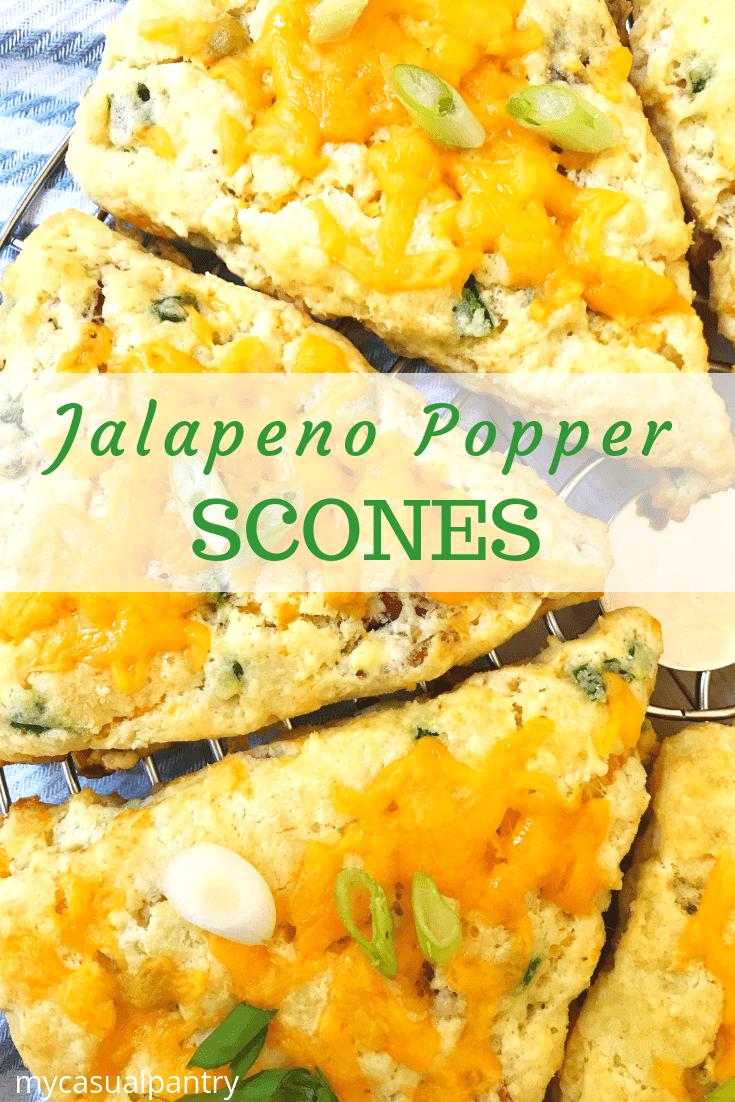 Jalapeno Popper Scones