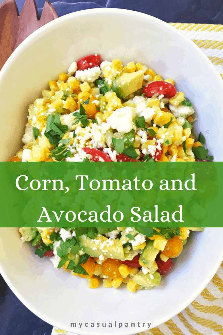 Corn, Tomato and Avocado Salad