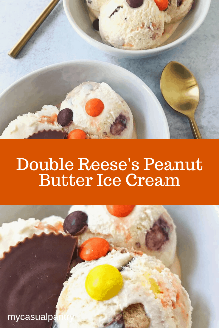 Double Reese's Peanut Butter Ice Cream
