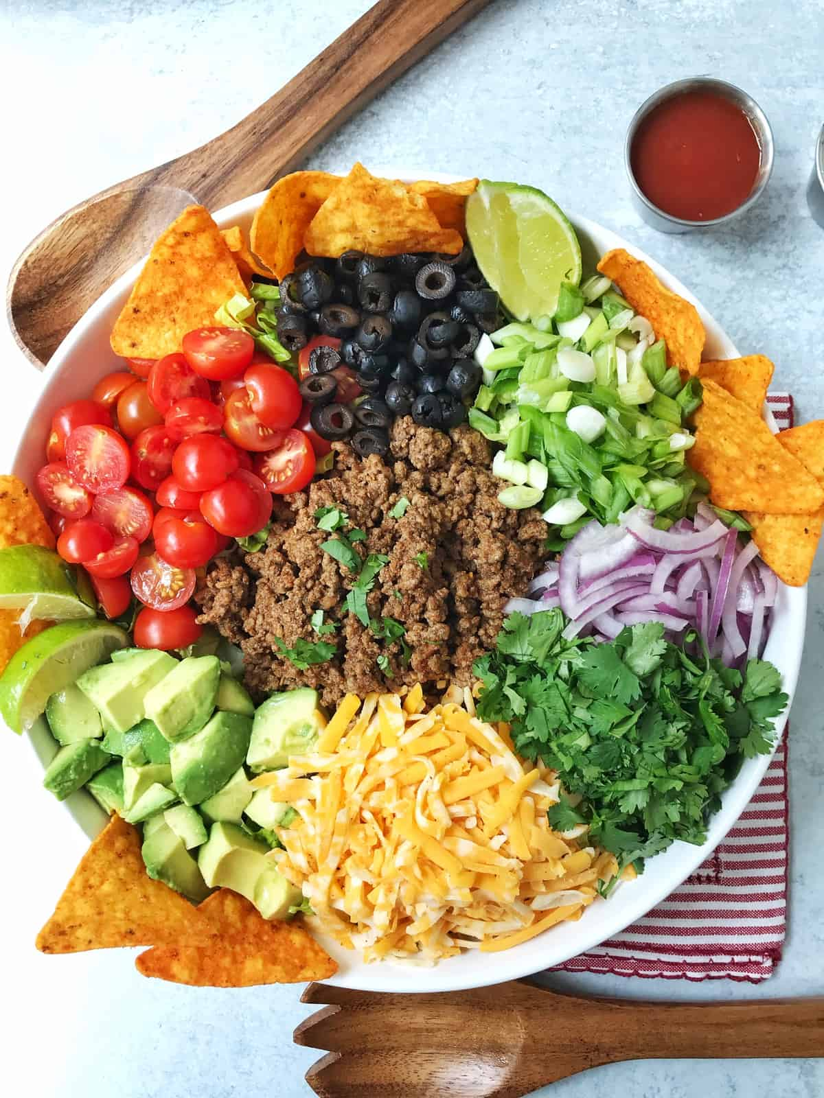 Chopped Dorito Taco Salad