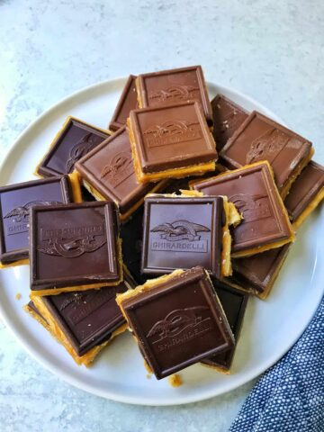 Chocolate Caramel Saltine Toffee