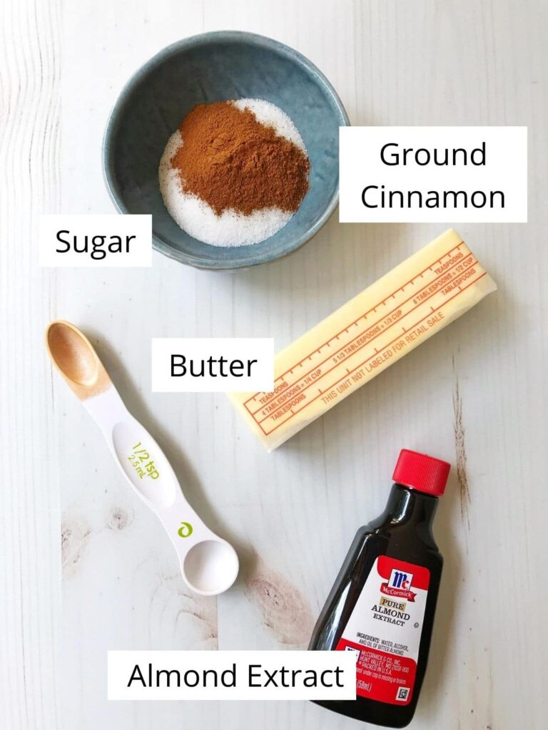 diagram of ingredients with labels