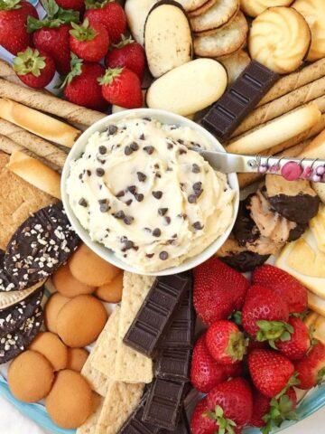 Chocolate Chip Mascarpone Dip