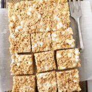 Maple Brown Butter Rice Krispie Treats (+the best base recipe)